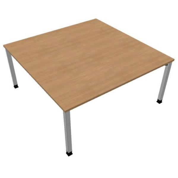 Vergadertafel vierkant DL1 160x160cm