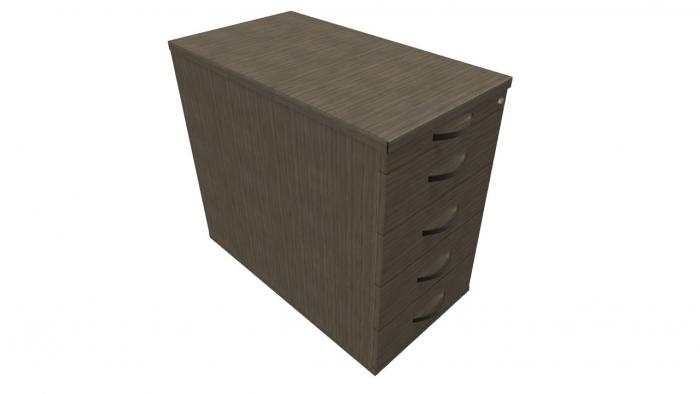 Febru hoog ladeblok 43 x 80 x 70 cm 16122261 kasten for Ladeblok 70 cm diep