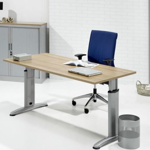 Huismerk bureau T-poot 180 x 80 cm