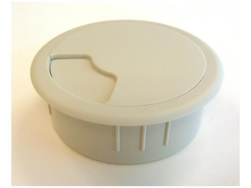 Kabeldoorvoer 3 delig Ø 60 mm lichtgrijs