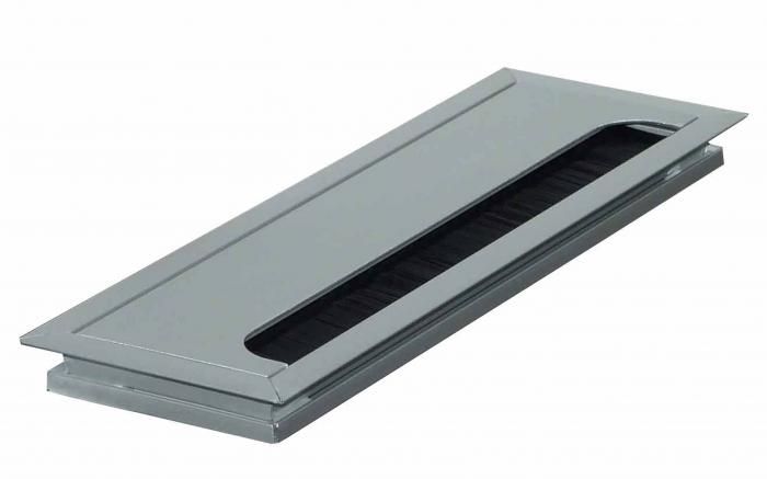 Kabeldoorvoer 80x160x13mm met softclose sluiting
