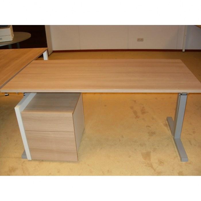 Bureautafel triass t poot 160 x 80 cm tr st16t outlet for Ladenblok kersen