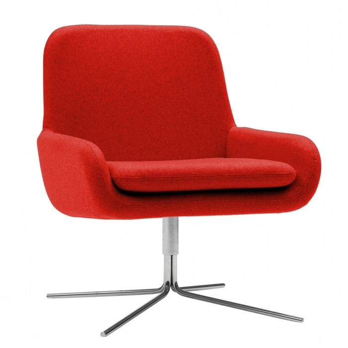 Softline Lounge stoel COCO swivel