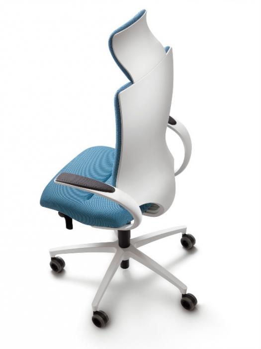 Dauphin InTouch bureaustoel (white edition) IT 54205   Stoelen    Zitten   Kantoorinrichting