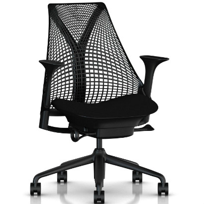Herman Miller Sayl bureaustoel zwart