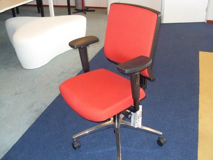 Dauphin MY-Self bureaustoel gestoffeerde rug