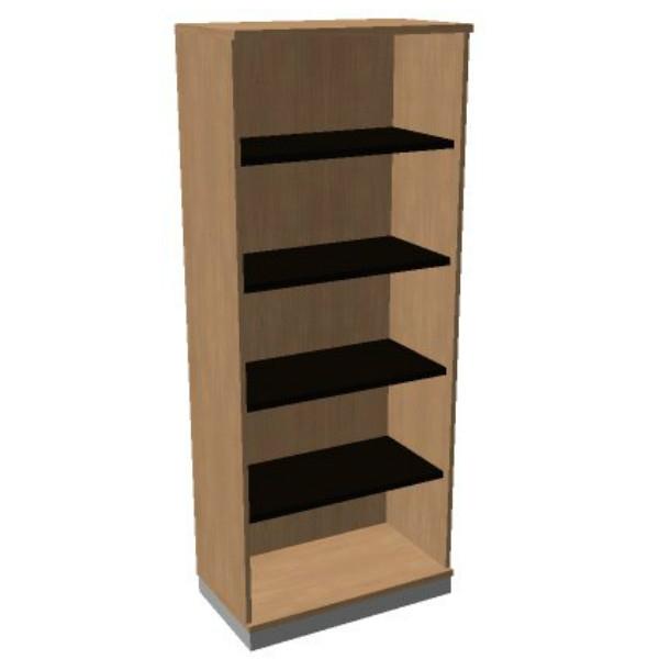 OKA houten open kast 197,1x80x45 cm