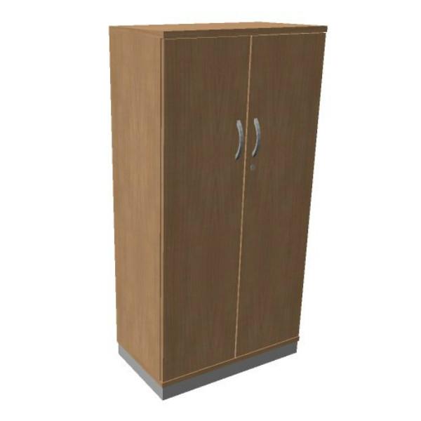 OKA houten draaideurkast 158,7x80x45 cm