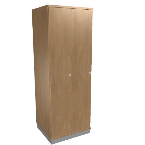 Oka houten garderobekast 2 deurs