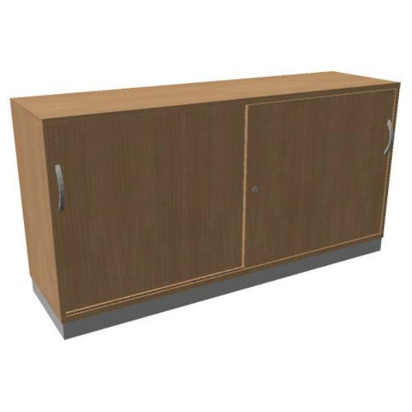 OKA houten schuifdeurkast  82x160x45 cm