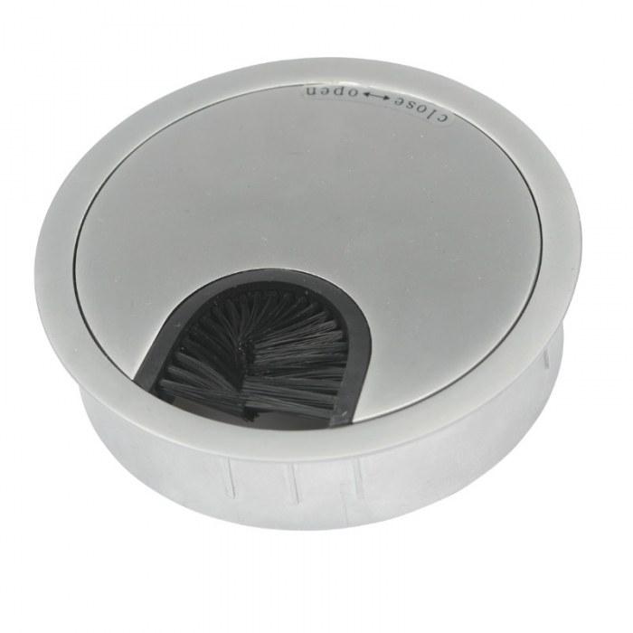 Kabeldoorvoer metaal Ø 80 mm aluminium