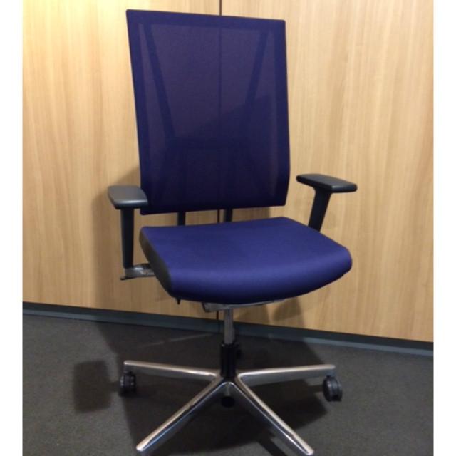 Viasit Scope Bureaustoel met netweave 300.5000.SL