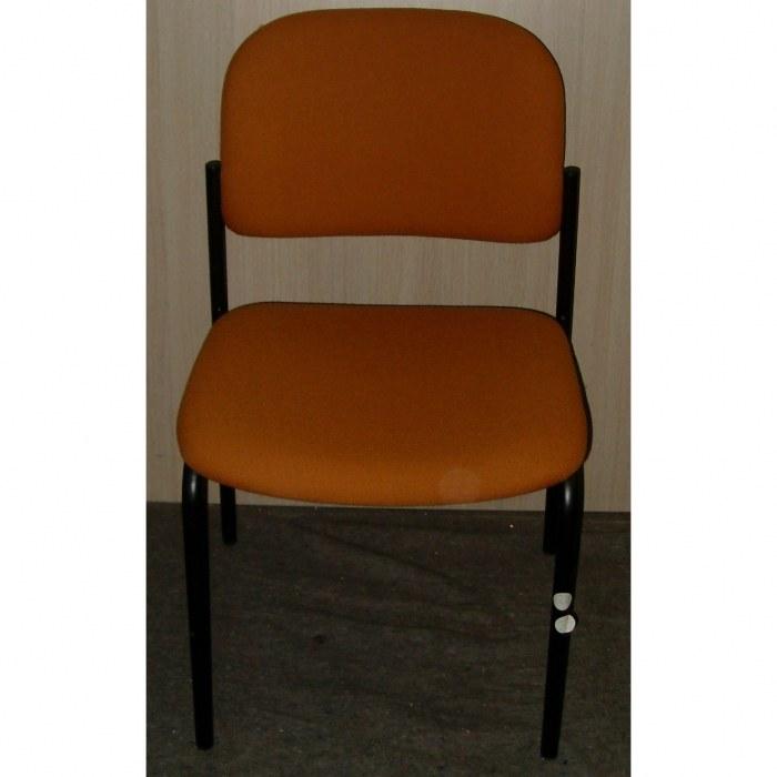 Vierpootsstoel Stof Oranje