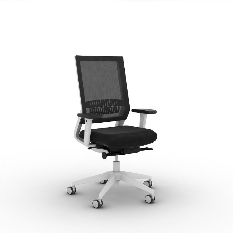 ViaSit Impulse TOO bureaustoel grijs