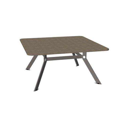 Febru Spider vergadertafel vierkant 160 x 160 cm