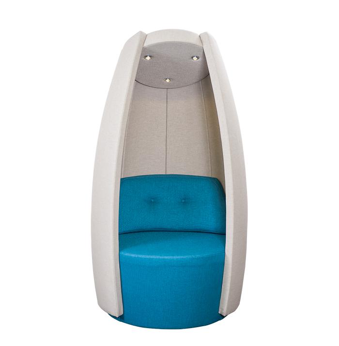 Skipper design Cocoon akoestische loungestoel full-option