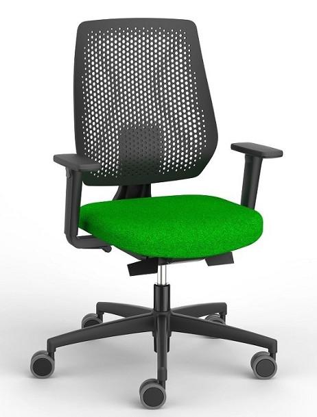 Dauphin Speed-o bureaustoel zwart SP76195
