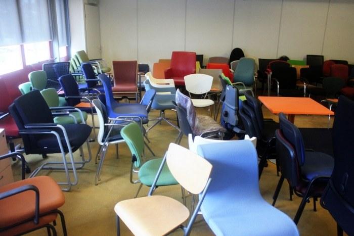 Diverse bureaustoelen