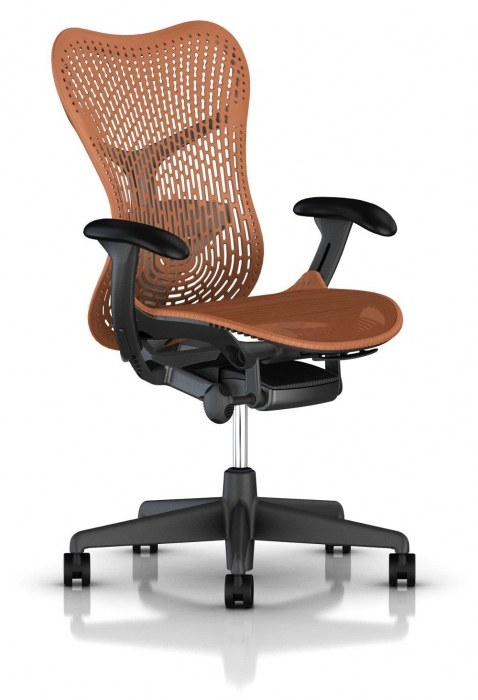 Herman Miller Mirra 2 orange bureaustoel MRF131