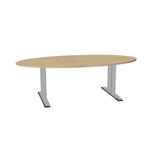 OKA JUMP vergadertafel ovaal 240 x 120 cm