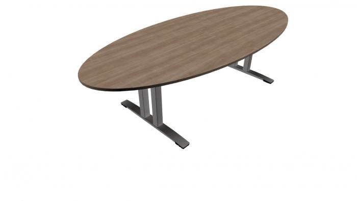 OKA JUMP vergadertafel ovaal 280 x 120 cm