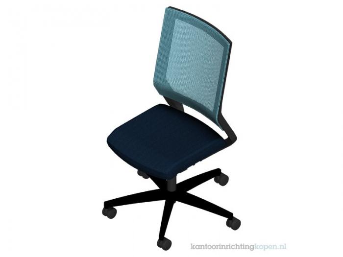 Viasit Impulse bureaustoel met netrug 414.0010-72