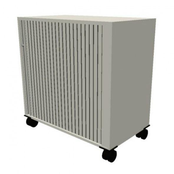 Oka houten kast op wielen 80 5x80x45cm cdfa201 kasten opbergen kantoorinrichting kopen - Houten doos op wielen ...