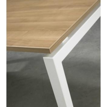 bureau serie 500 4 poots 120 x 60 cm bureaus. Black Bedroom Furniture Sets. Home Design Ideas