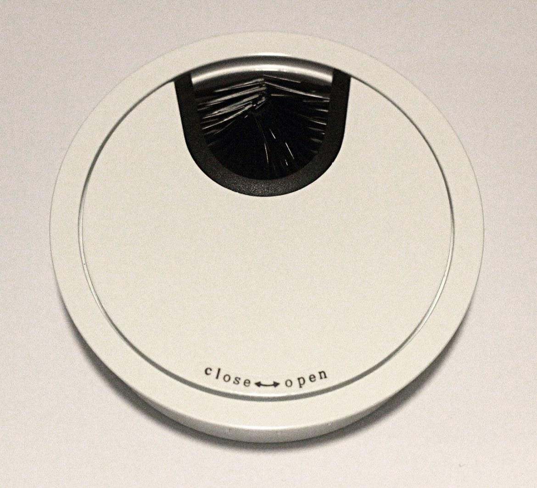 Kabeldoorvoer metaal Ø 88mm wit gelakt  423007.088000022.916 1
