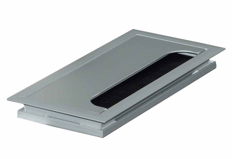 Kabeldoorvoer 80 x 240 x 13 mm aluminium  423011.080240013.000 1