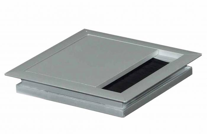 Kabeldoorvoer  100 x 100 x 13 mm aluminium  423011.100100013.000 1