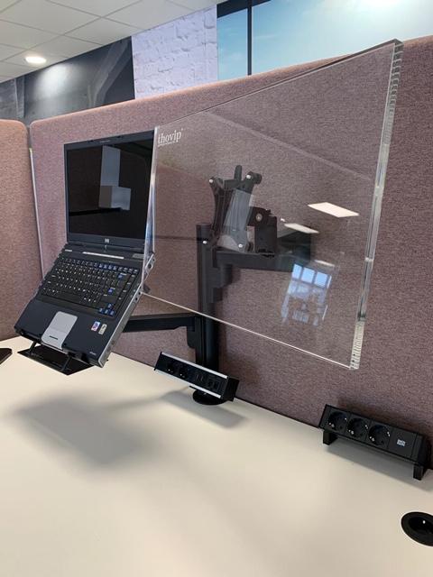 Monitorarm Galaxy enkel + notebook houder  472116.000002995 1