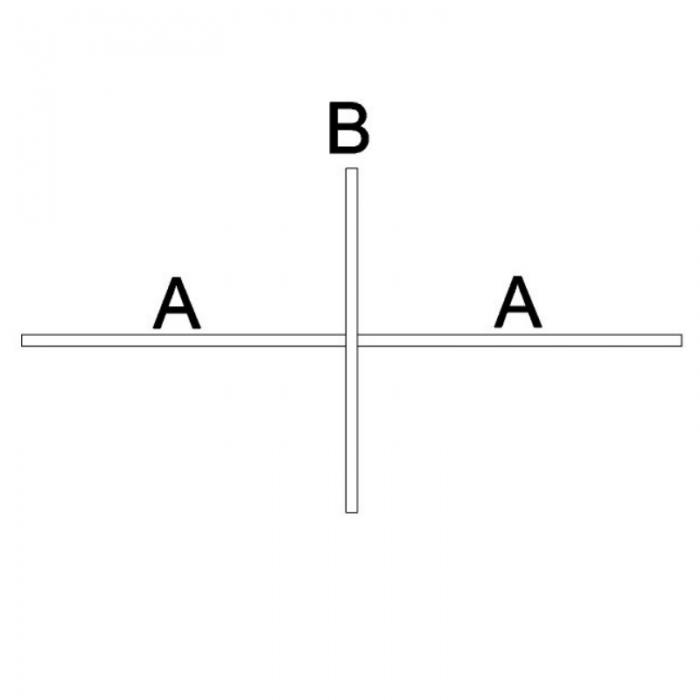 Akoestische scheidingswand B-MoVe X-opstelling 1600 mm  B-MoVe X-160080058 6