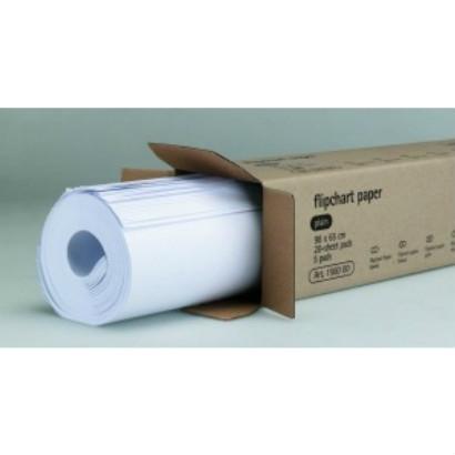 Flipoverpapier blanco, 20 vel 5 per doos  7-156000 1