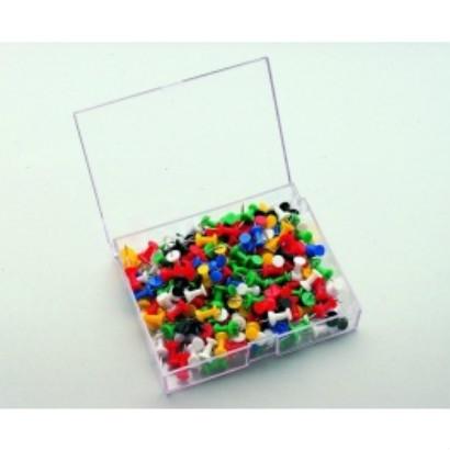 Push pin 200 stuks assorti  7-145299 1