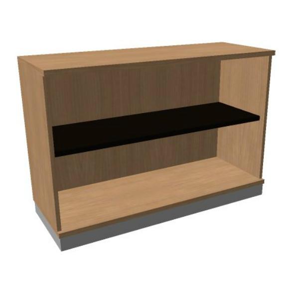OKA houten open kast 82x120x45 cm  SBAAC26 1