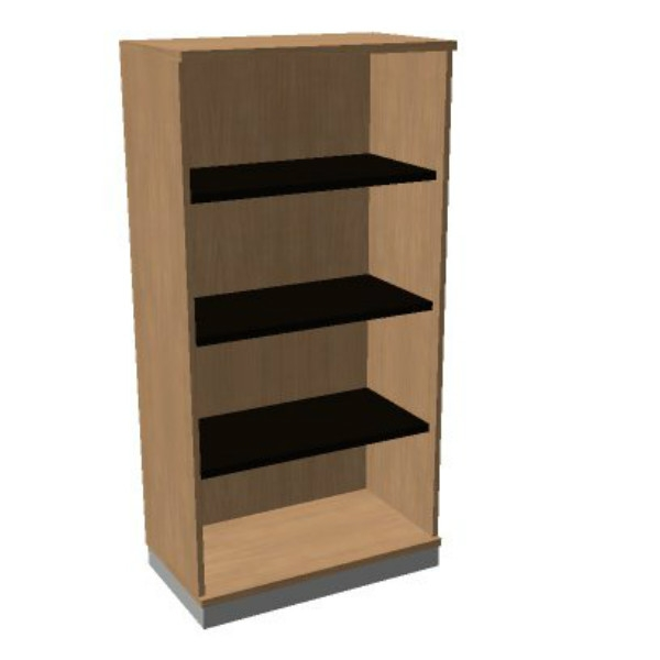 OKA houten open kast 158,7x80x45 cm  SBAAG22 1