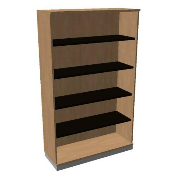 OKA houten open kast 197,1x120x45 cm  SBAAI26 1