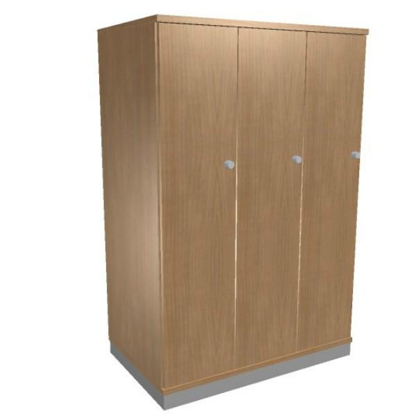 Oka houten garderobekast 3 deurs  SBIAG72 1