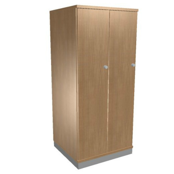 Oka houten garderobekast 2 deurs  SBIAG68 1