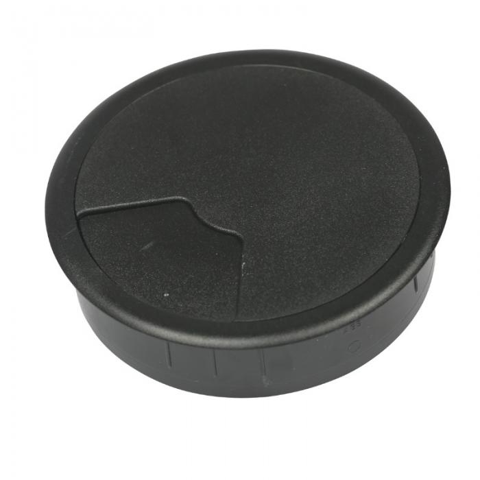 Kabeldoorvoer 3 delig Ø 80 mm zwart  423001.087800022.000 1