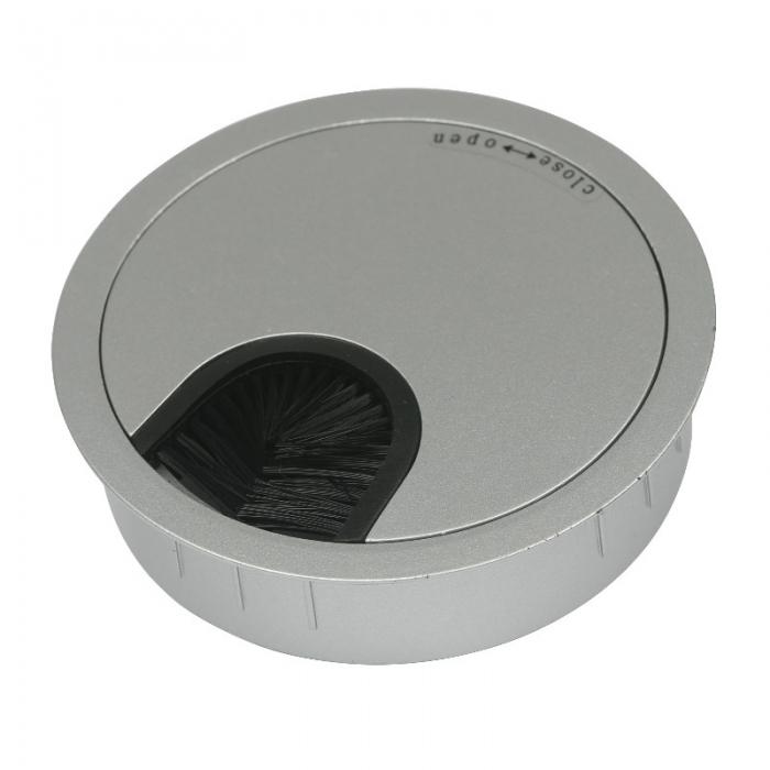 Kabeldoorvoer metaal Ø 80 mm chroom mat  423007.088000022.091 1