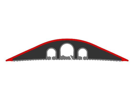 Vloergoot kunststof 90x1500 mm  470526.009001500 2