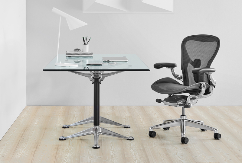 Mirra 2 Chairs with Canvas Office Landscape