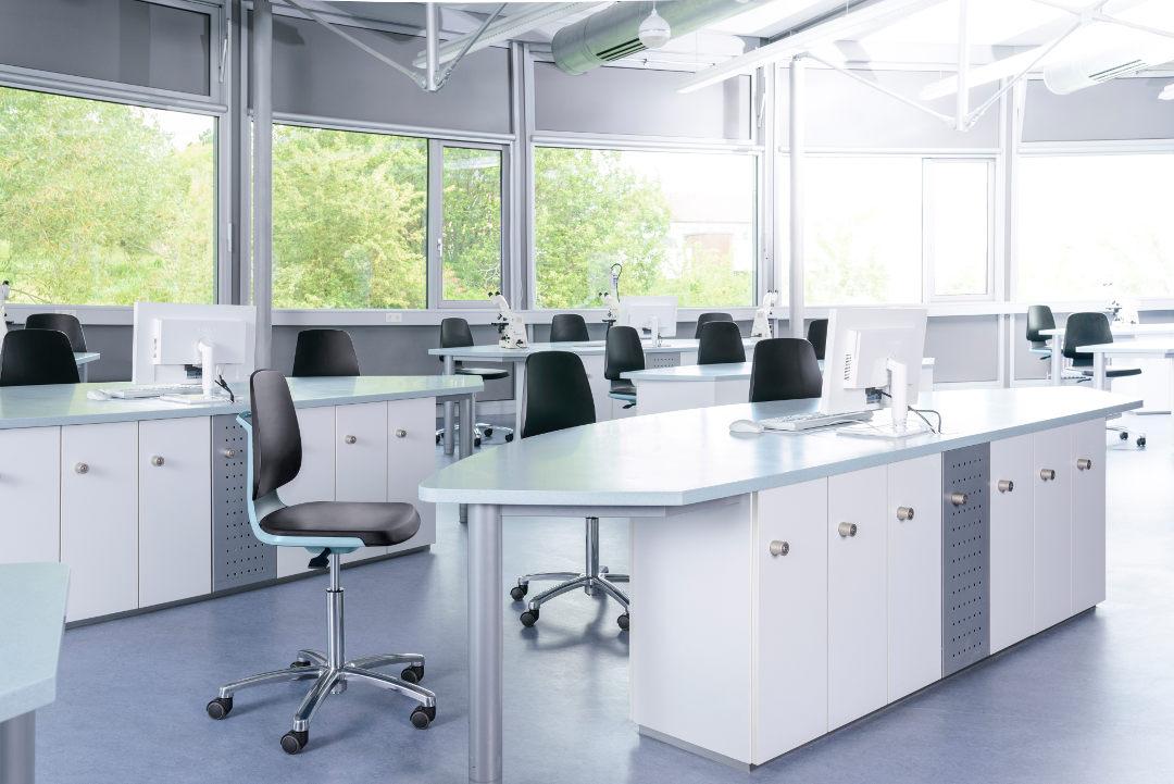 Bimos Labsit 2 ESD Laboratoriumstoel 9123E  9123E 2