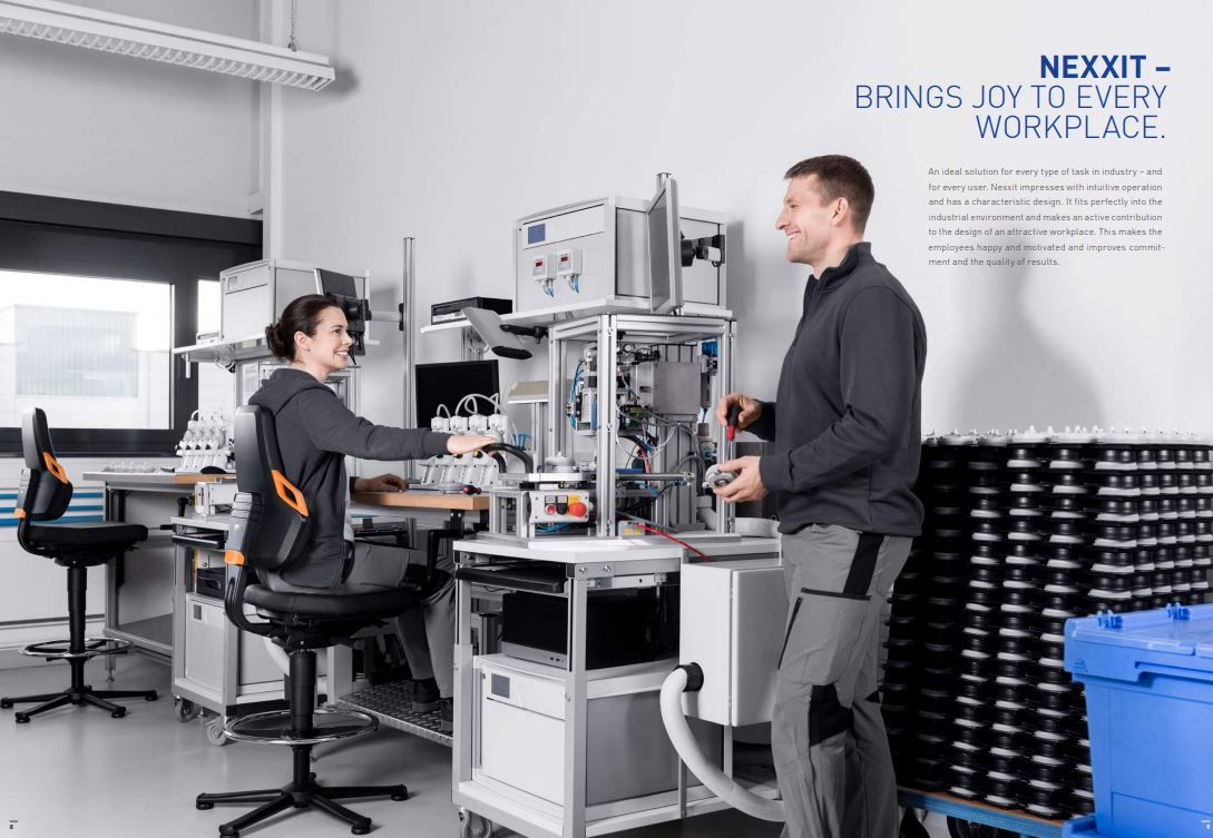 Bimos Nexxit Laboratoriumstoel 9033  BIMOS-9033 2