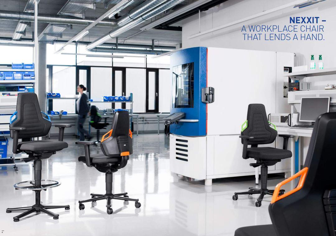 Bimos Nexxit Laboratoriumstoel 9033  BIMOS-9033 3