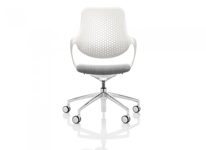 Boss Coza bureaustoel witte rugleuning  COZ/1/P5 2