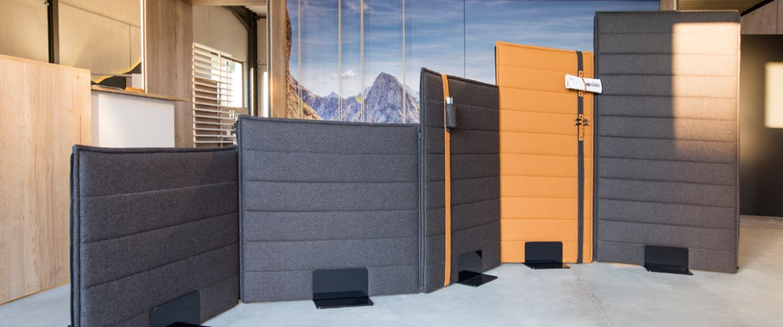 Febru Silent akoestische scheidingswand 120 x 180 cm  581182 6