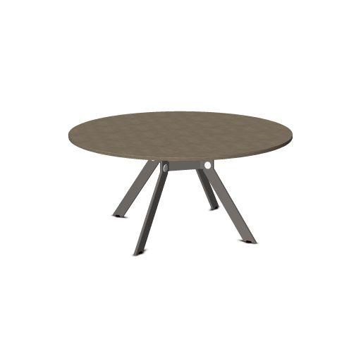 Febru Spider vergadertafel rond 160 cm  351600 1